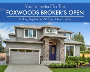 Foxwoods Broker's Open : Friday, Sept. 6th from 11am – 3pm