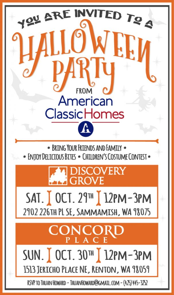 Homeowner and Agent Appreciation Halloween Event