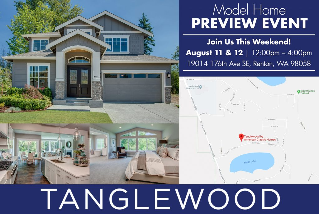 American Classic Homes Opens Brand New Model Home at Tanglewood in Renton, WA