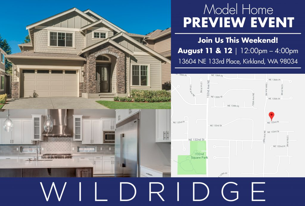 American Classic Homes Opens Brand New Model Home at Wildridge in Kirkland, WA