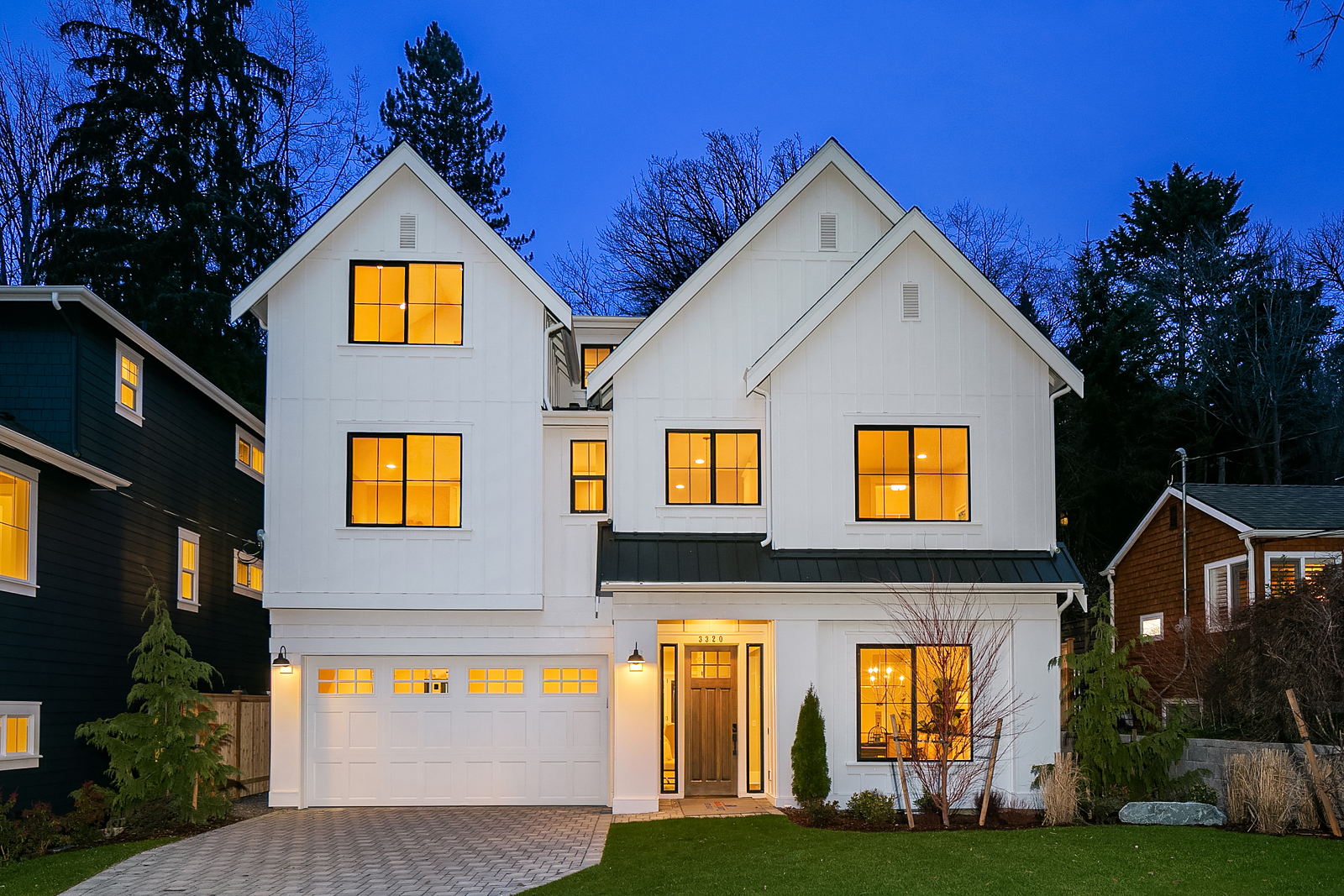 4,141sf New Home in Seattle, WA