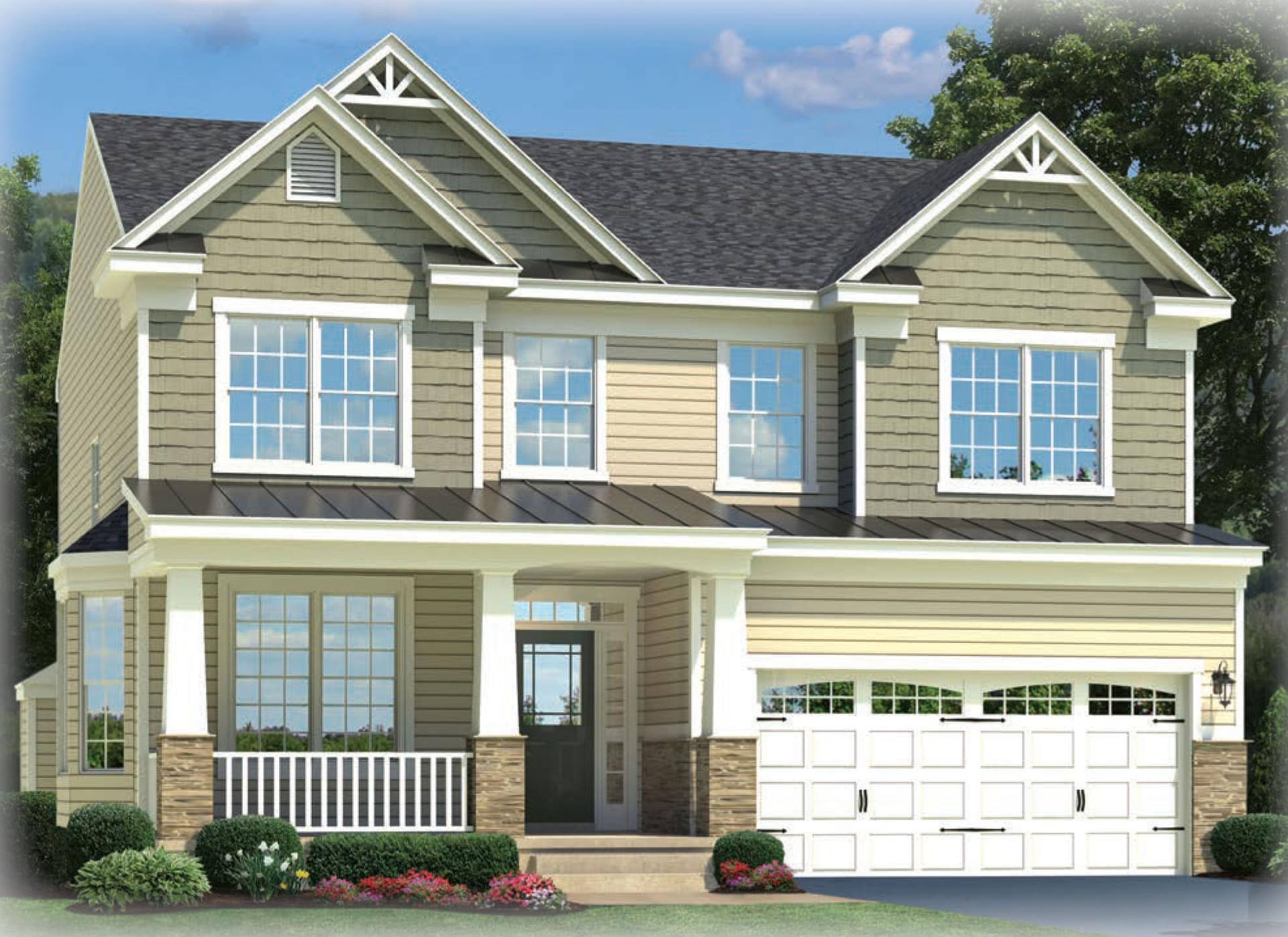 The Dayton New Home In Severn Md Crossland Farm From