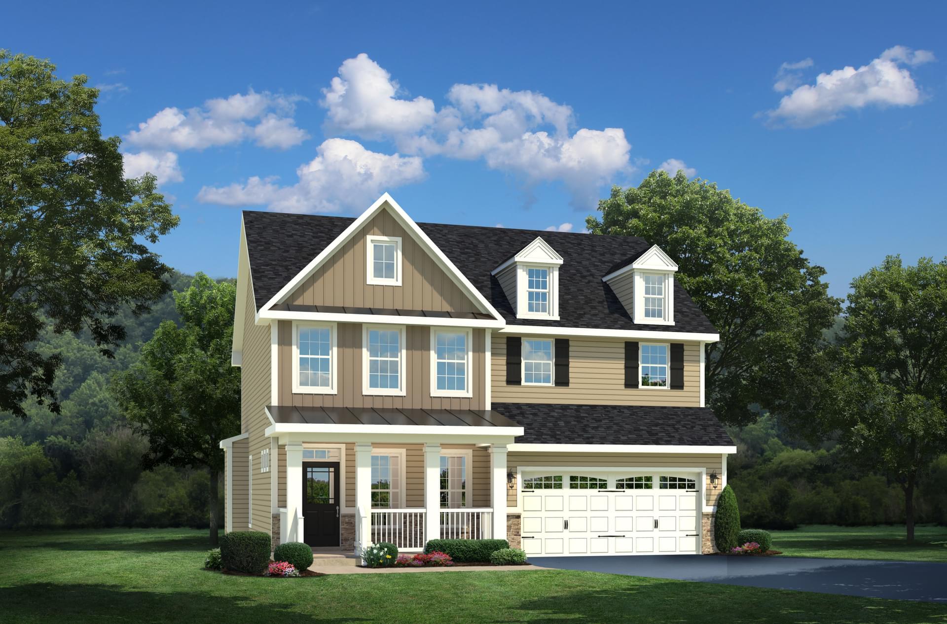 New Homes In Severn Md Crossland Farm From Koch Homes