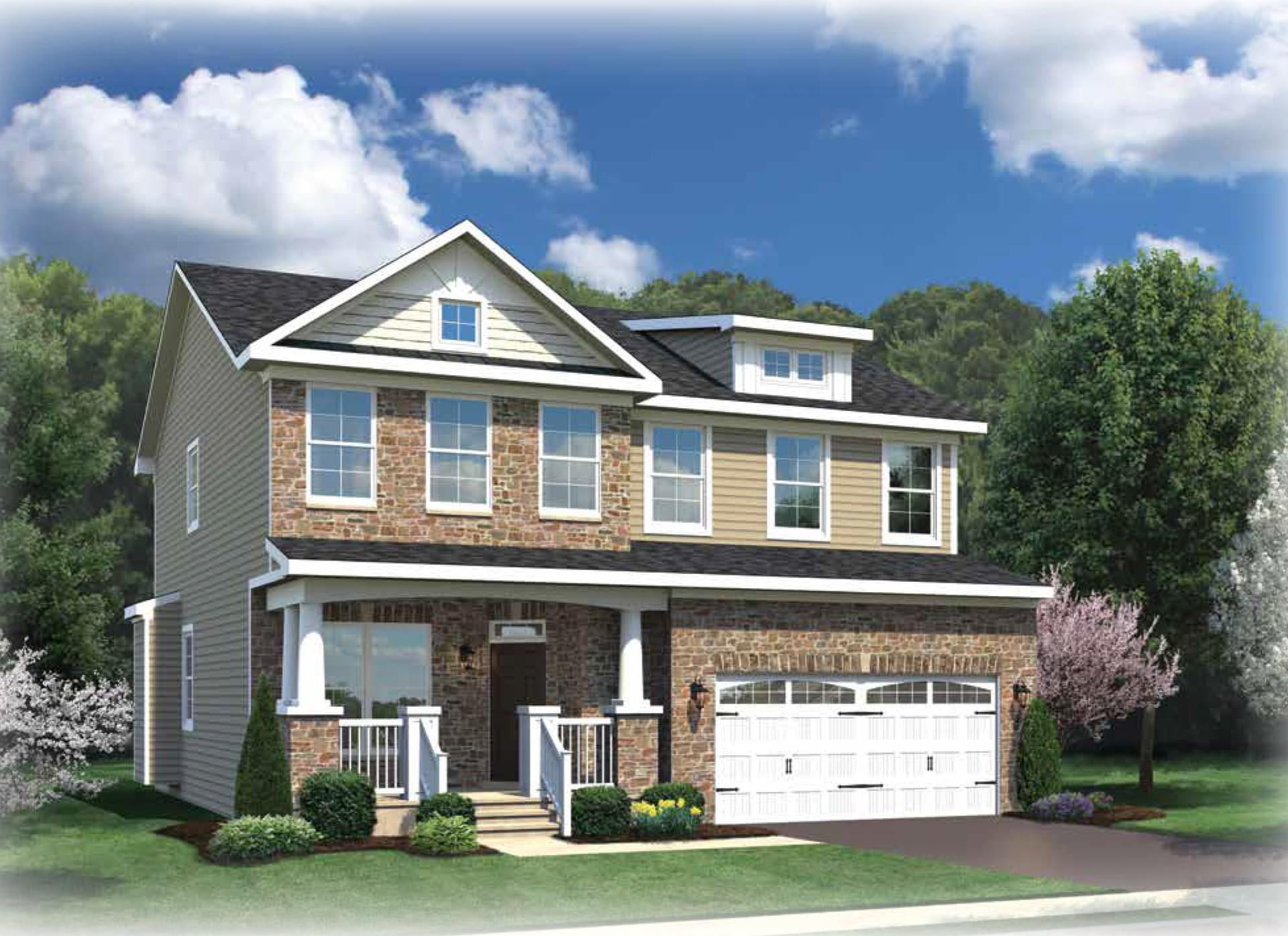 The Yorktown New Home In Pasadena Md Harvest Ridge From
