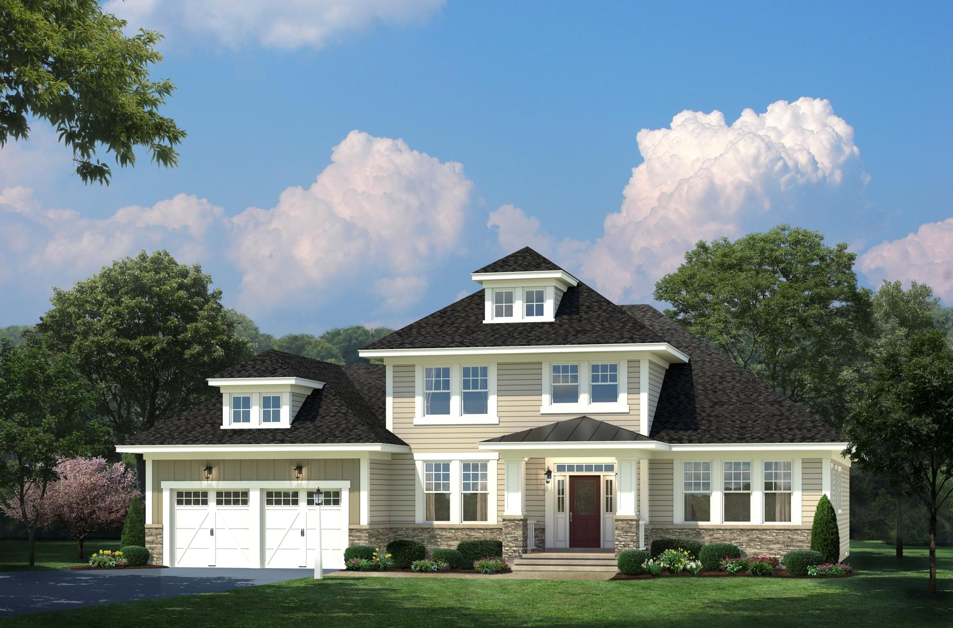 The devonshire craftsman new home in riva md blue heron for The devonshire
