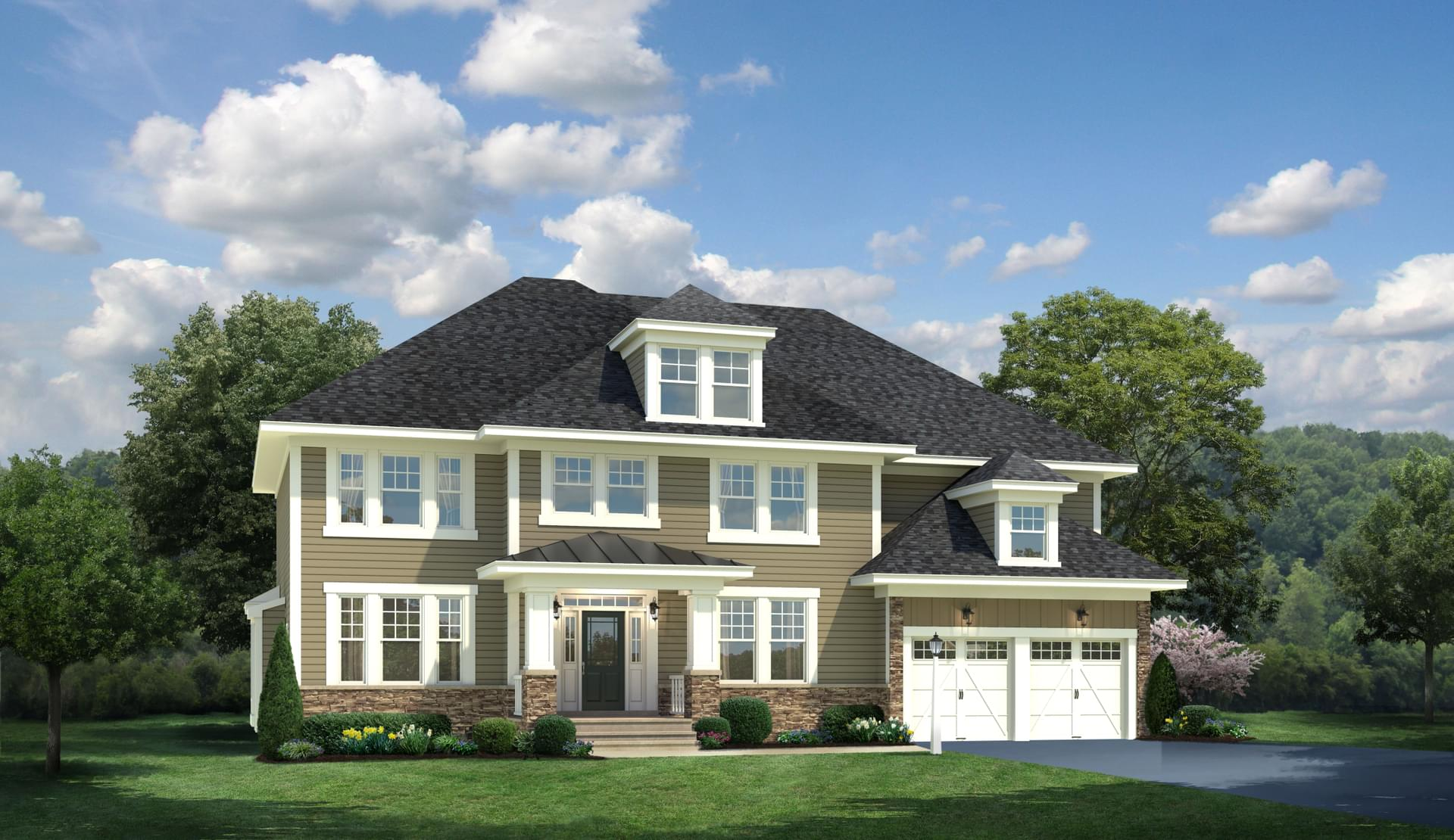 The stratford new home in riva md blue heron estates for Maryland home builders