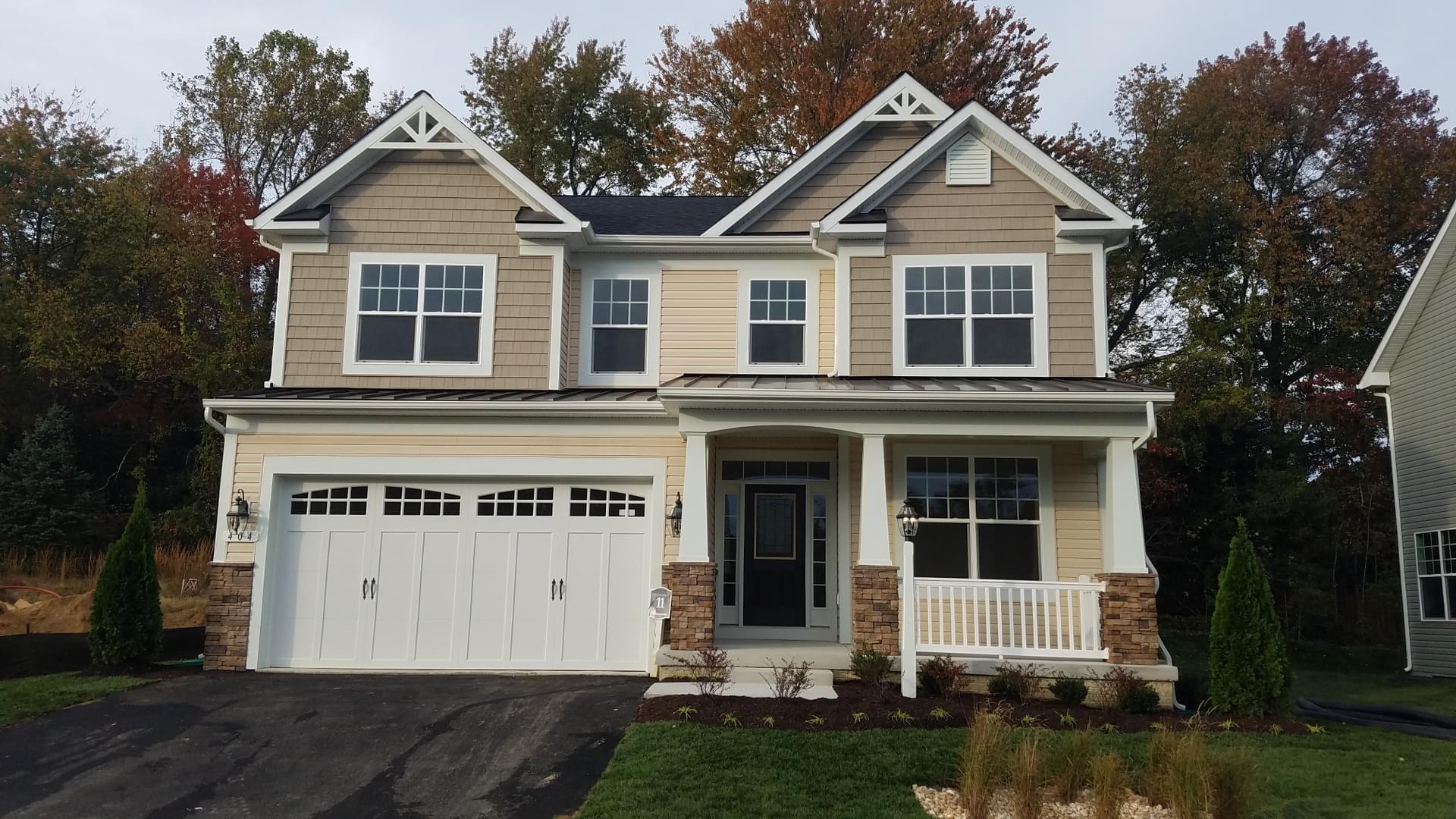 Kosmill Drive in Millersville MD from Koch Homes