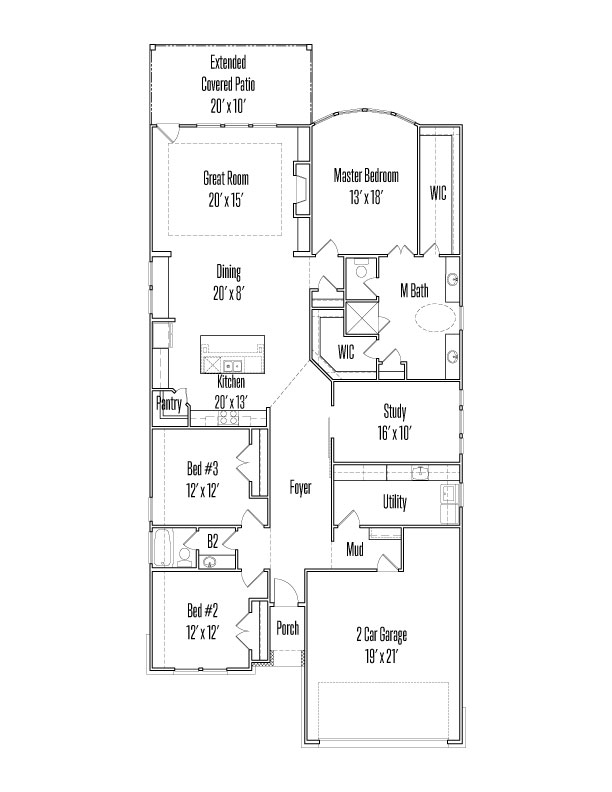 28410 Shailene Drive Floorplan Image - First Floor