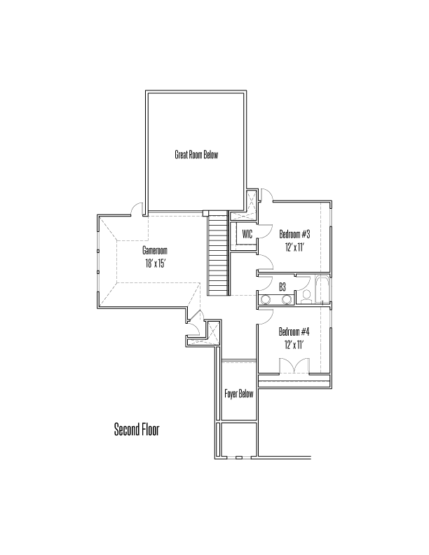 28430 Shailene Drive Floorplan Image - Second Floor