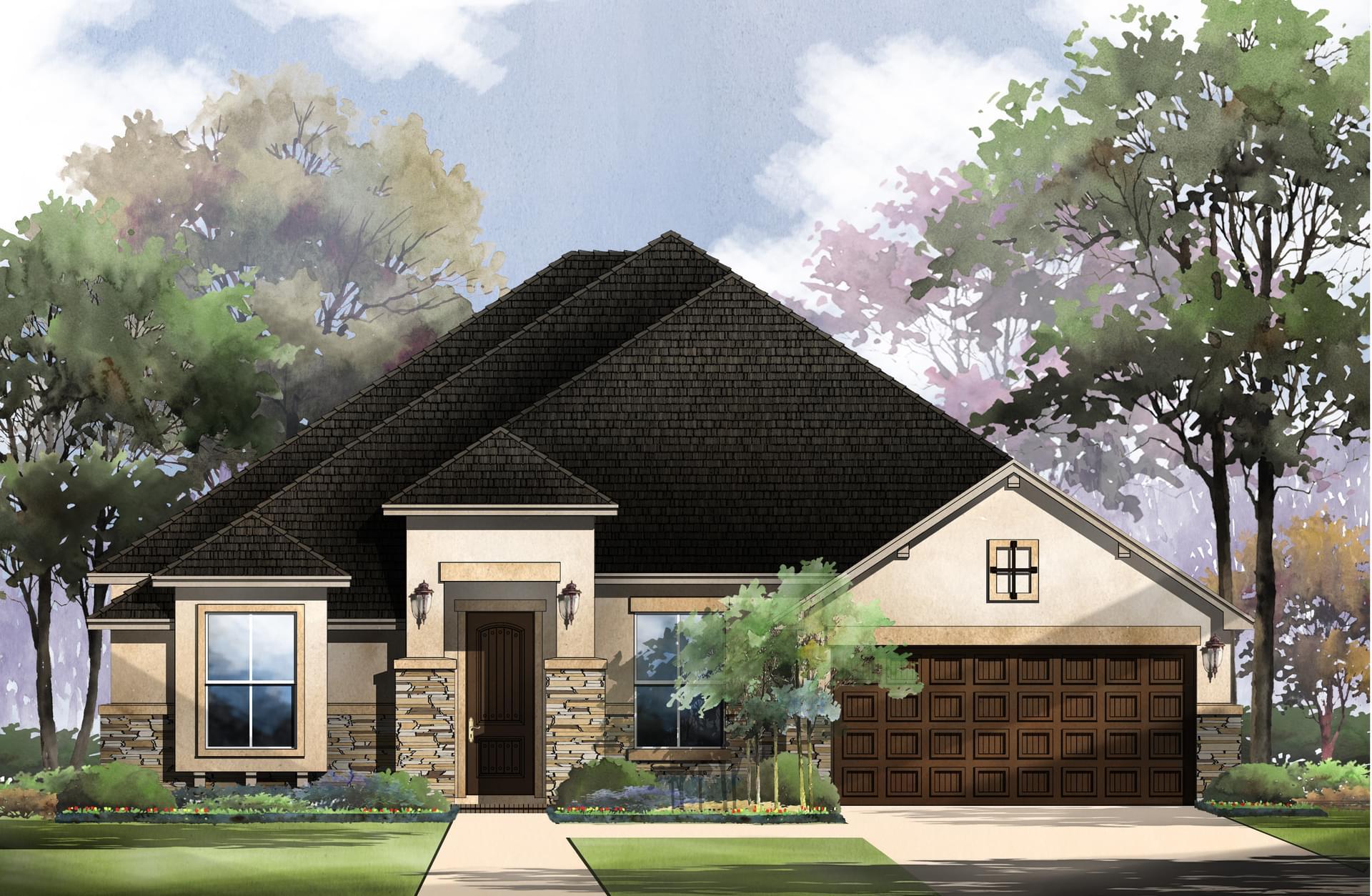 New homes san antonio monticello homes for Modern home builders san antonio