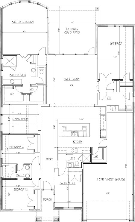 2401 Fallshire Court (Model) Floorplan Image - First Floor