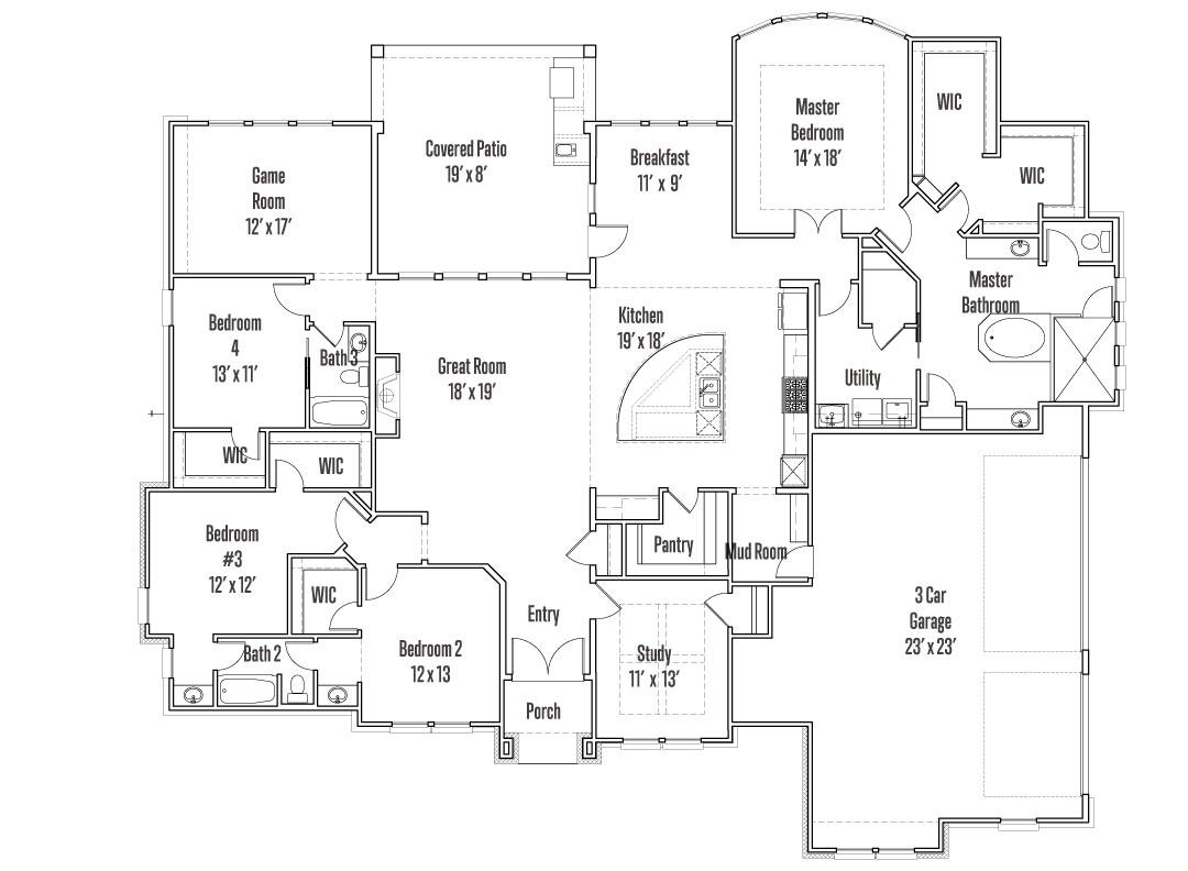 125 Reataway Floorplan Image - First Floor