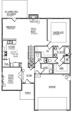Sullivan plan at the cottages at stono ferry from crescent for Sullivan floor plan