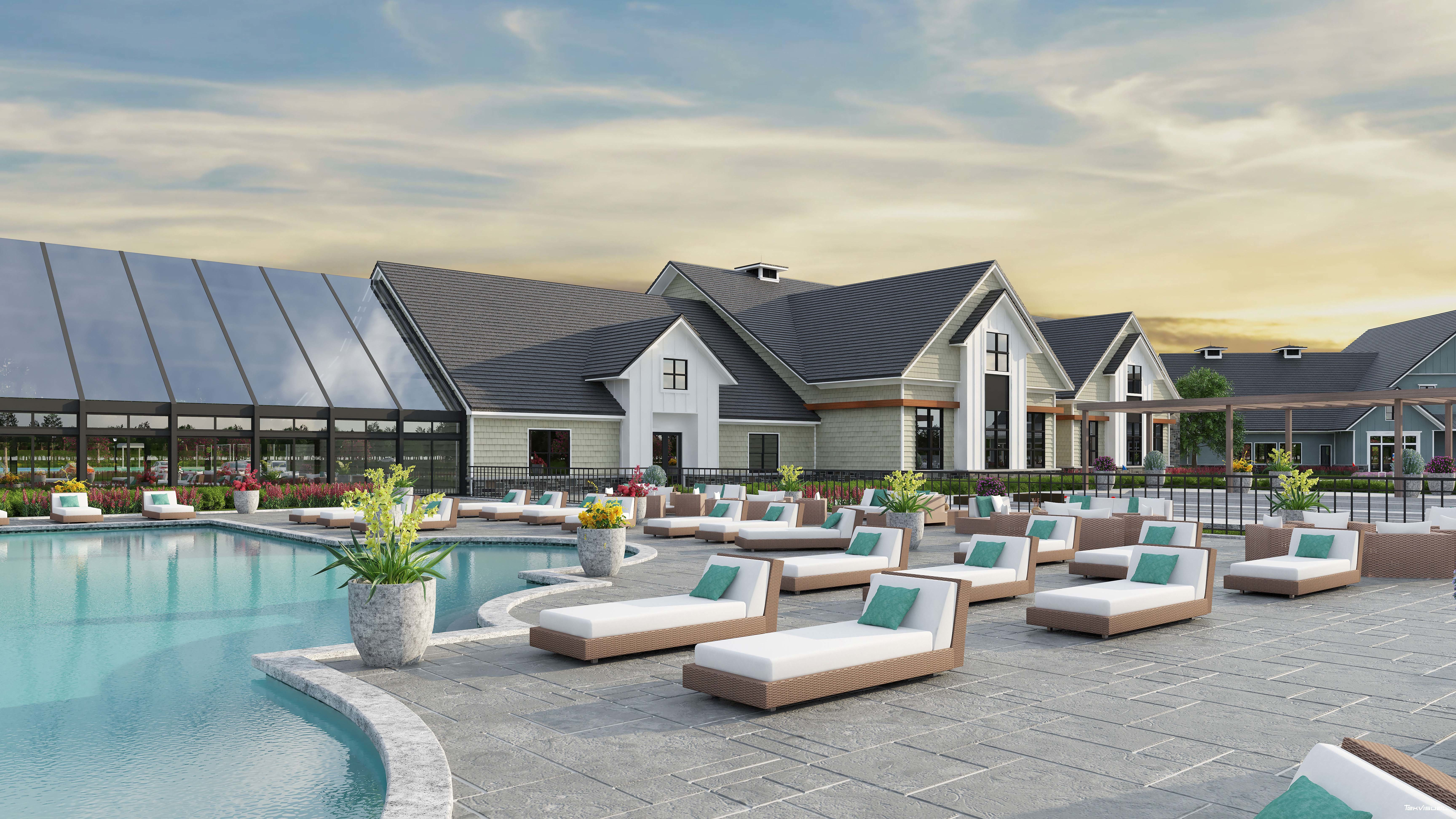 Live Beautifully in the 55+ Amblebrook Community