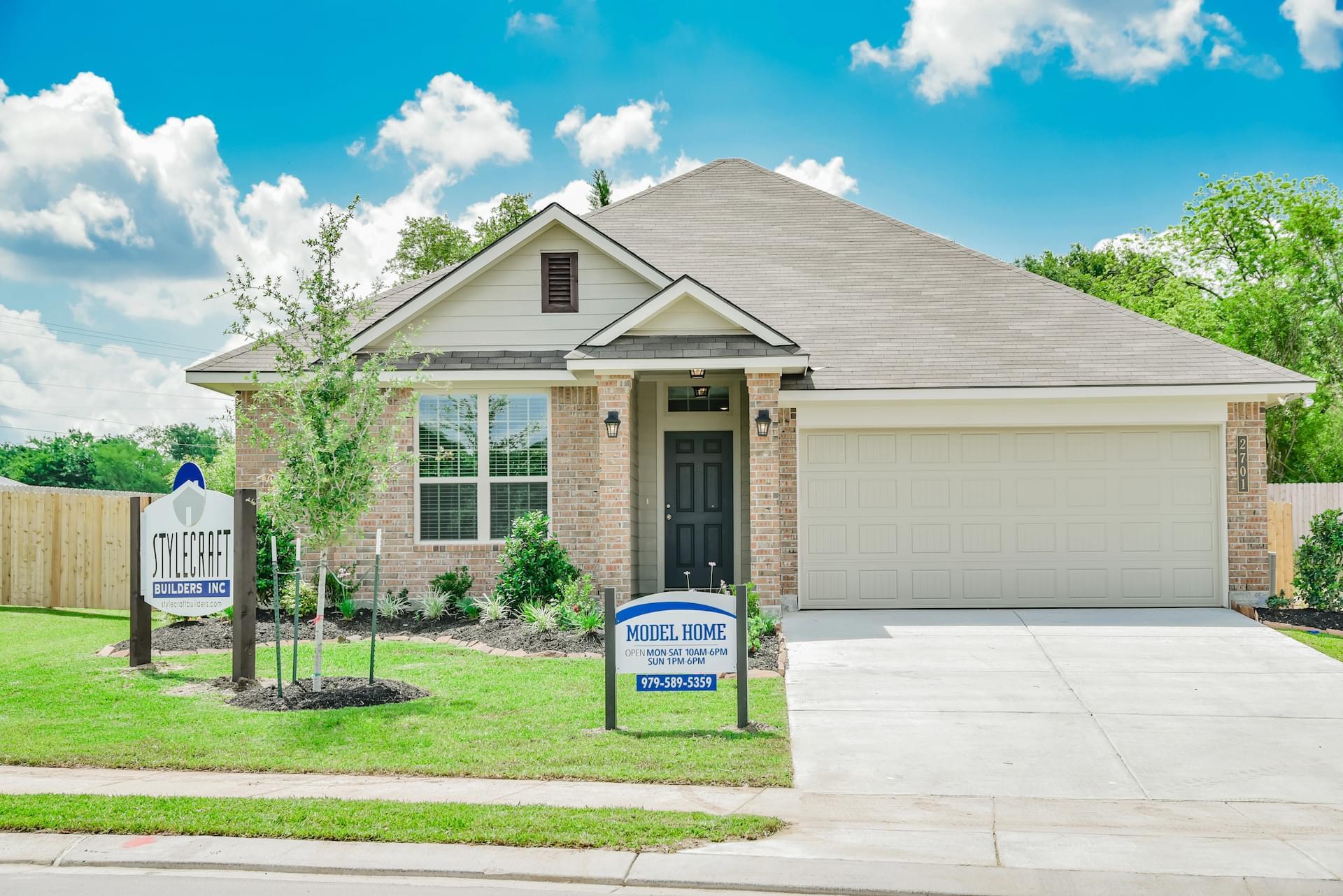 New Homes In Bryan Tx Porter S