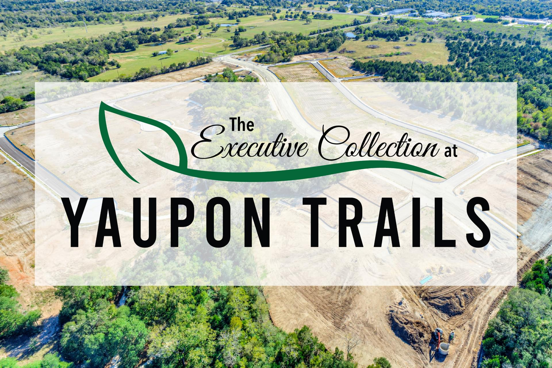 The Executive Collection at Yaupon Trails in Bryan, TX